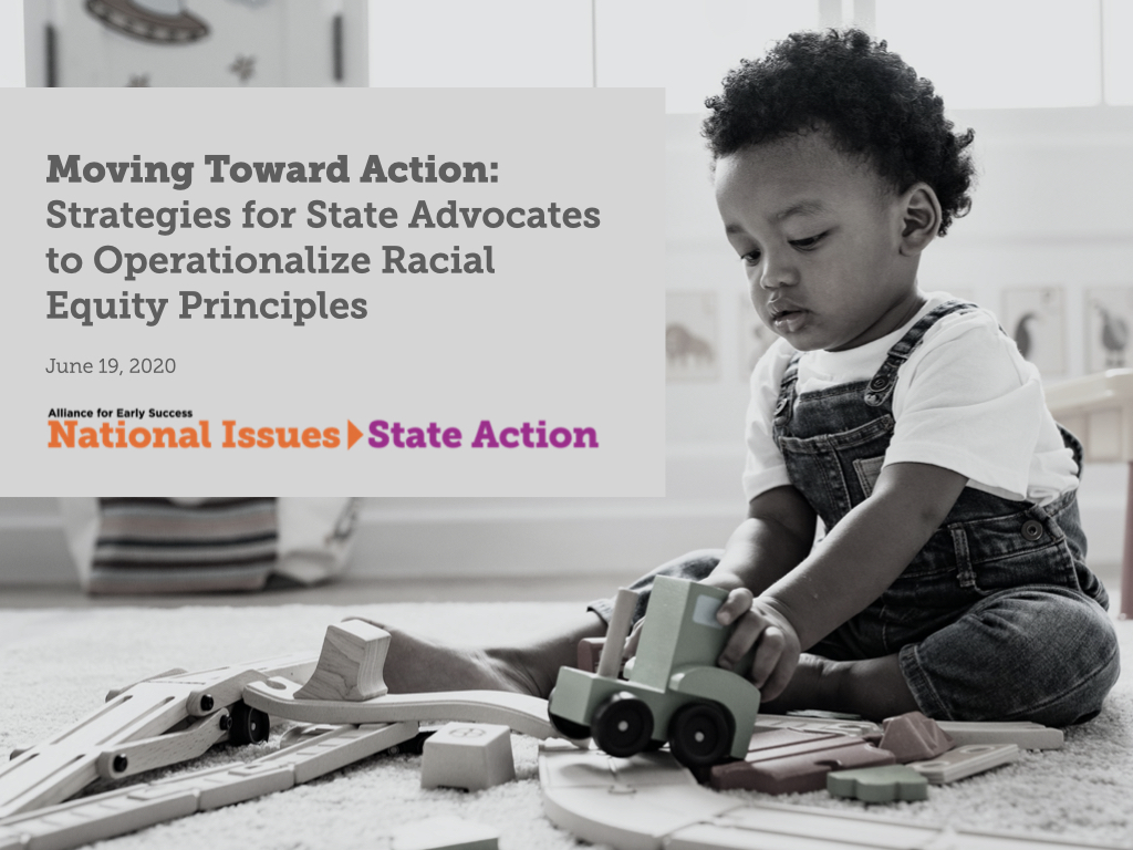 Operationalizing Equity in Early Childhood Policy