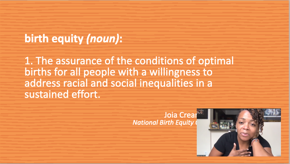 Alliance for Early Success hears from Dr. Joia Crear-Perry on Maternal Child Health Policy and Disparities