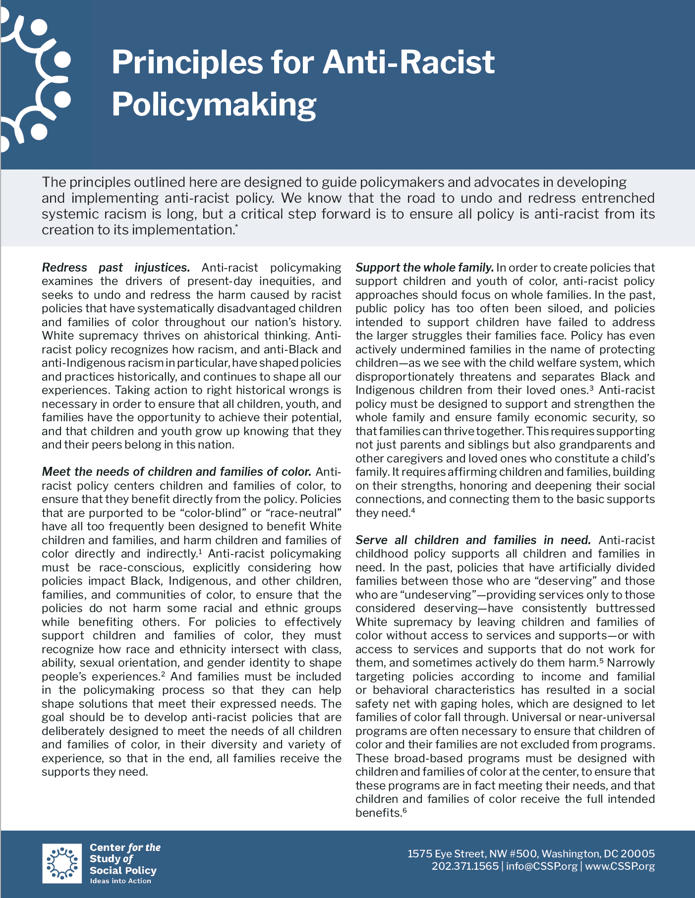 PrinciplesforPolicymakingCover