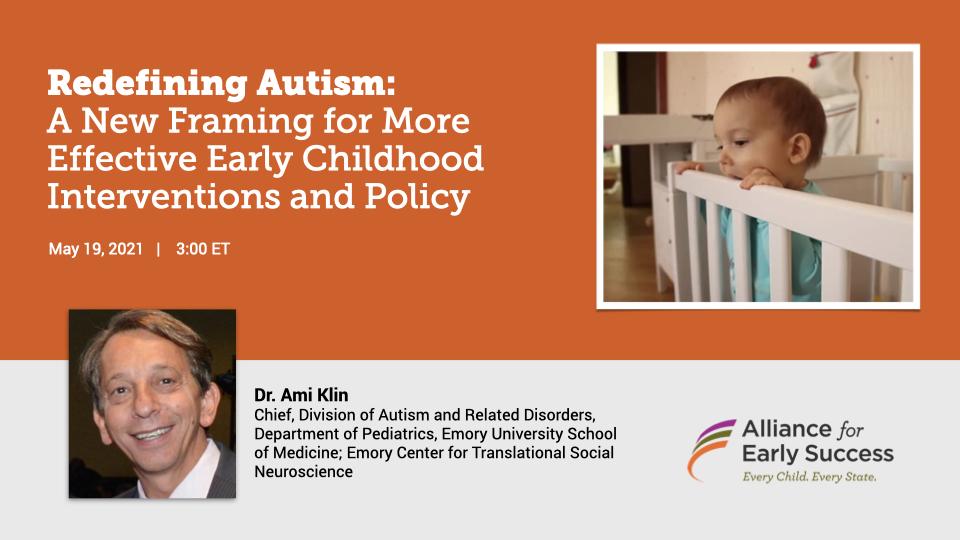 Dr. Ami Klin Autism Webinar