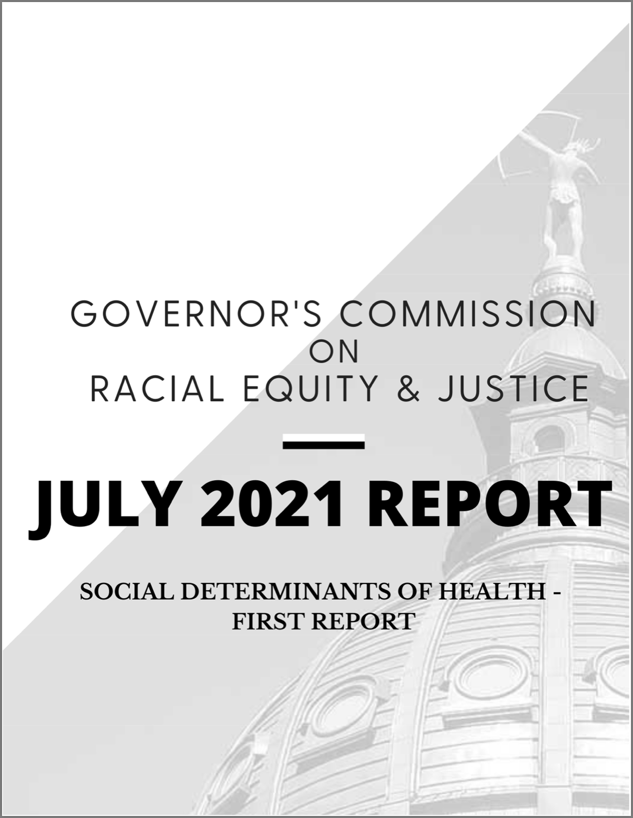 Kansas Commission on Racial Equity Report